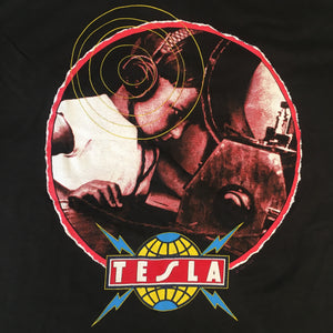 "Vintage Tesla ""The Great Radio Controversy"" T-Shirt"