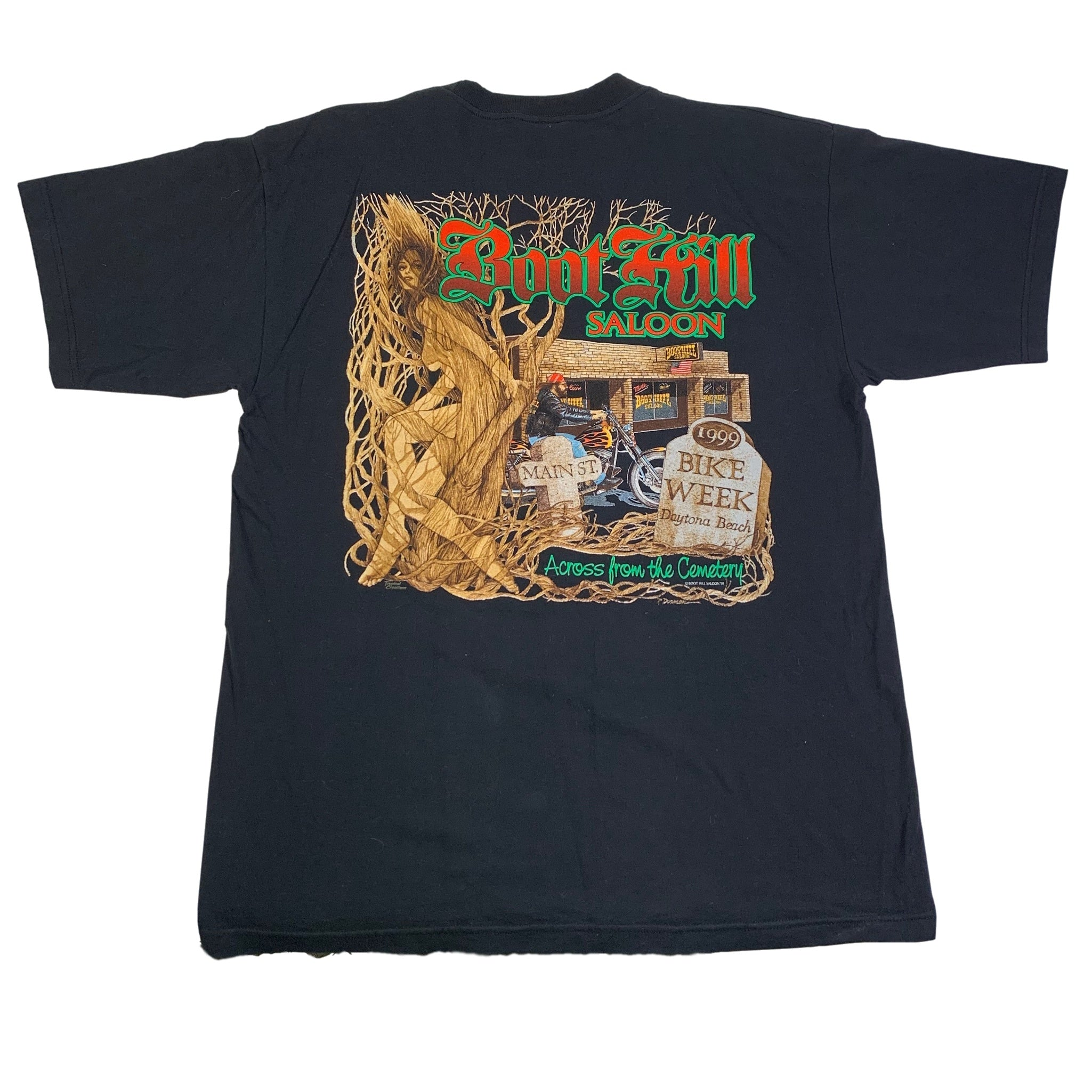 "Vintage Boot Hill Saloon 1999 ""Daytona"" T-Shirt"