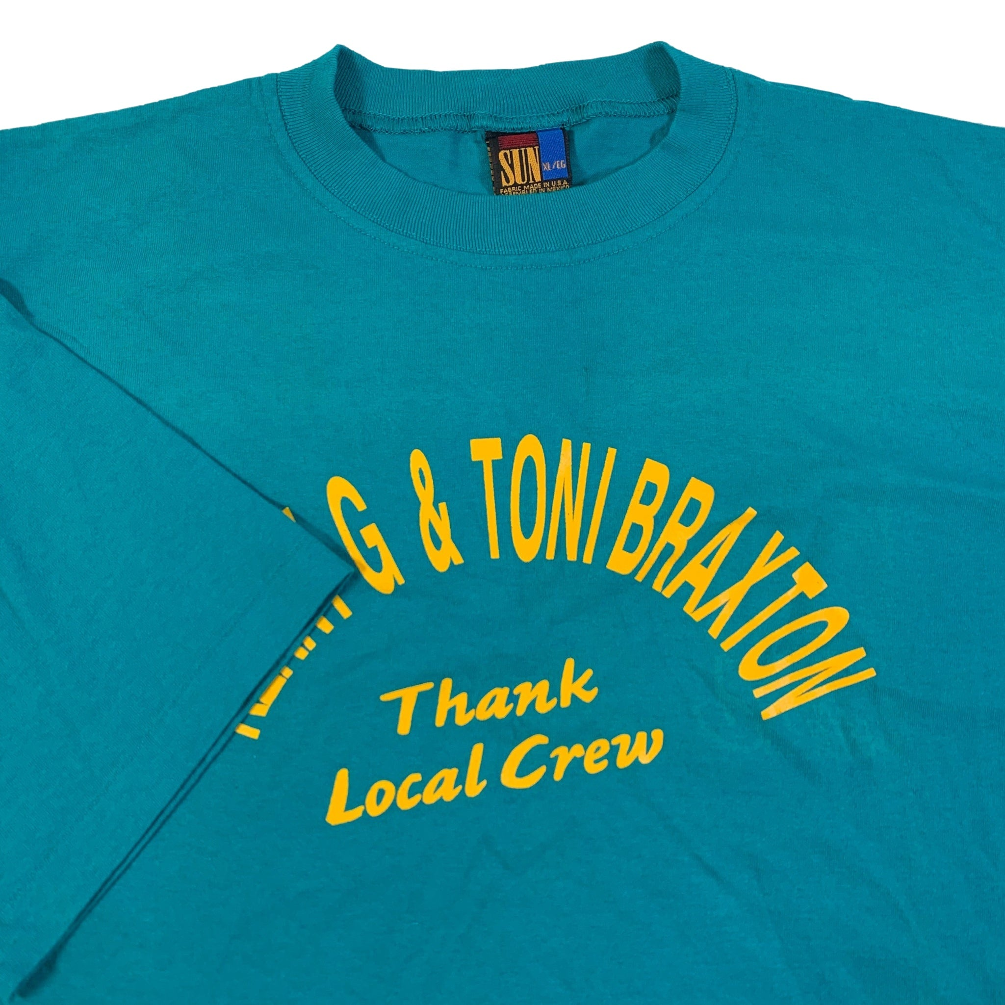 "Vintage Kenny G Toni Braxton ""Local Crew"" T-Shirt"