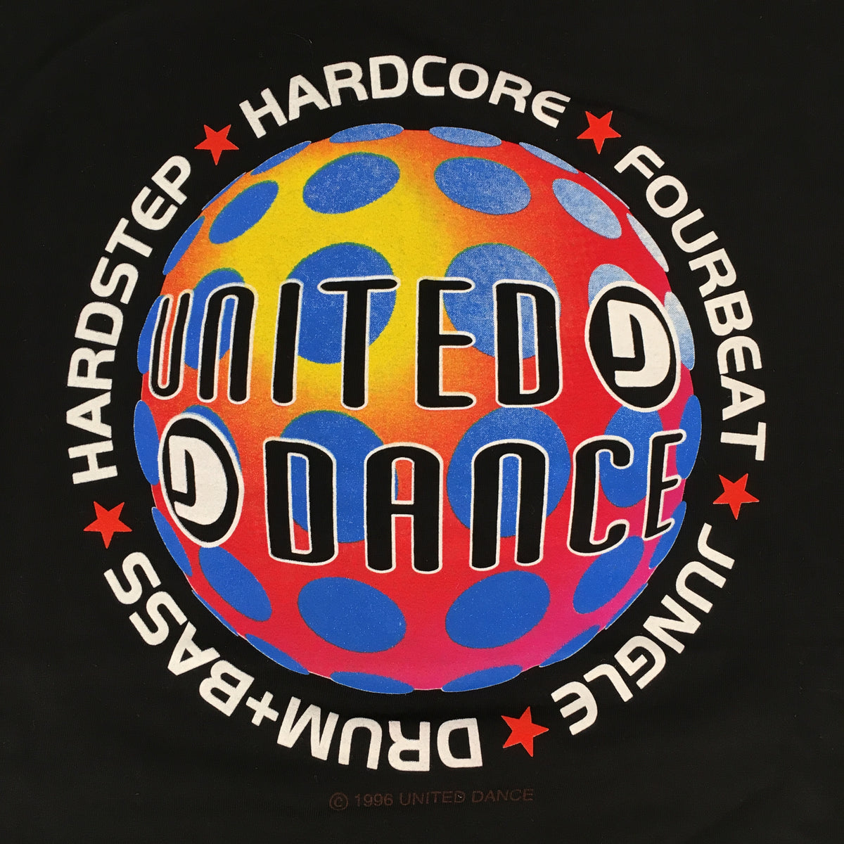 "Vintage United Dance Festival ""1994"" T-Shirt"