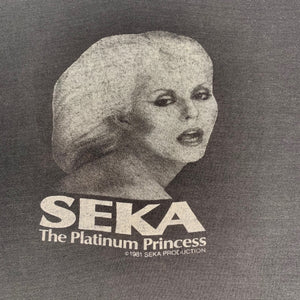"Vintage Seka ""The Platinum Princess"" T-Shirt"