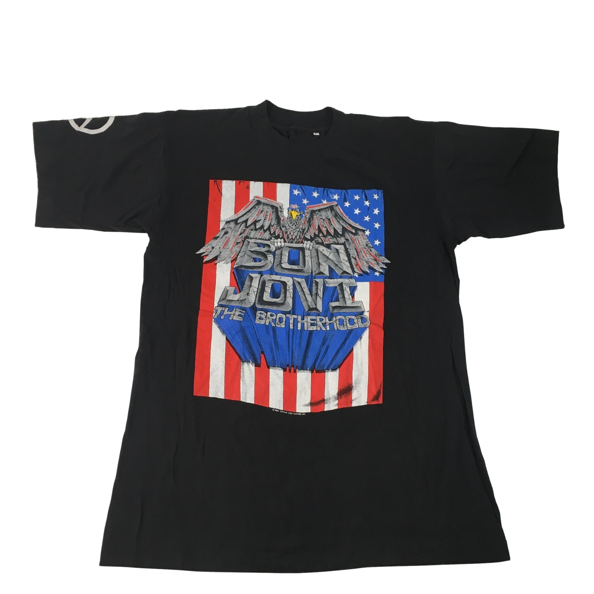 "Vintage Bon Jovi ""The Brotherhood"" T-Shirt"