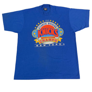 "Vintage New York Knicks ""Atlantic Division Champs"" T-Shirt"