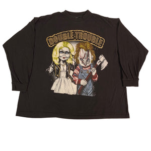 "Vintage Bride Of Chucky ""Double Trouble"" Long Sleeve Shirt"
