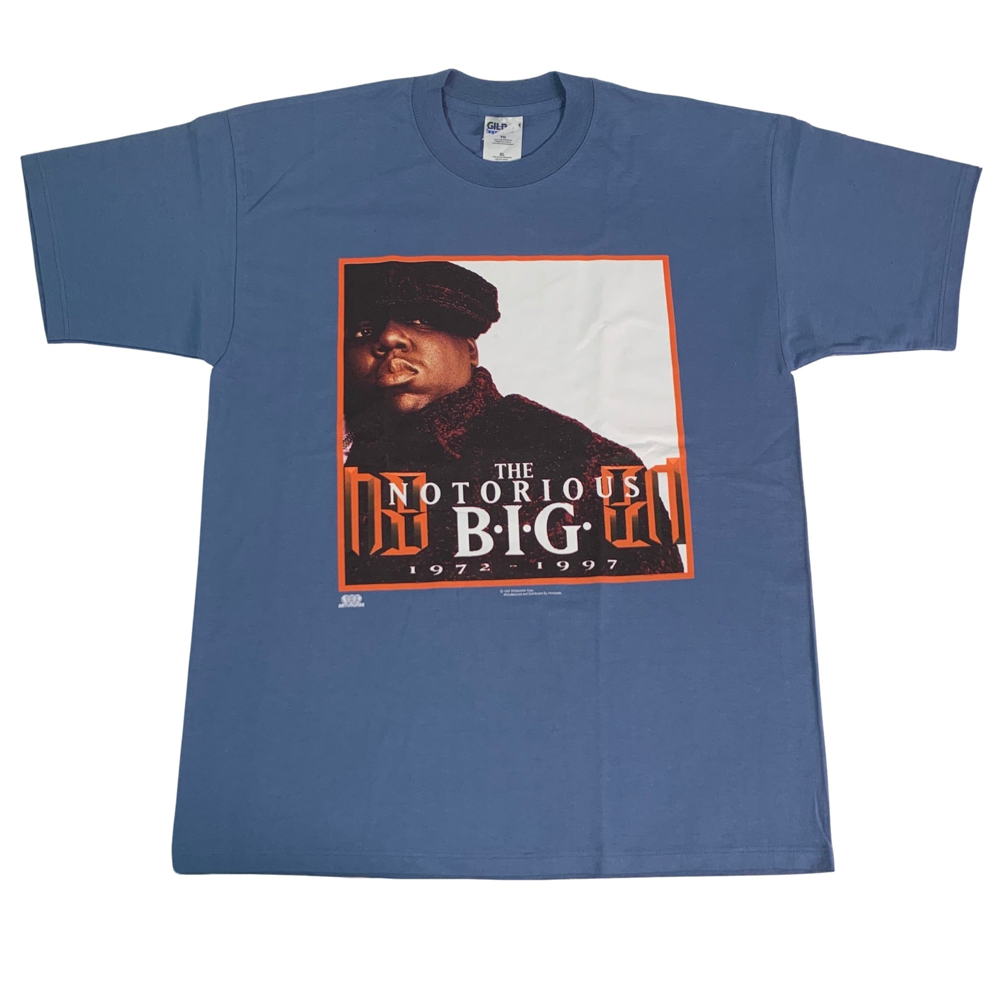 "Vintage The Notorious B.I.G. ""1972-1997"" T-Shirt"
