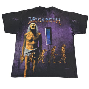 "Vintage Megadeth ""Countdown To Extinction"" All Over Print T-Shirt"