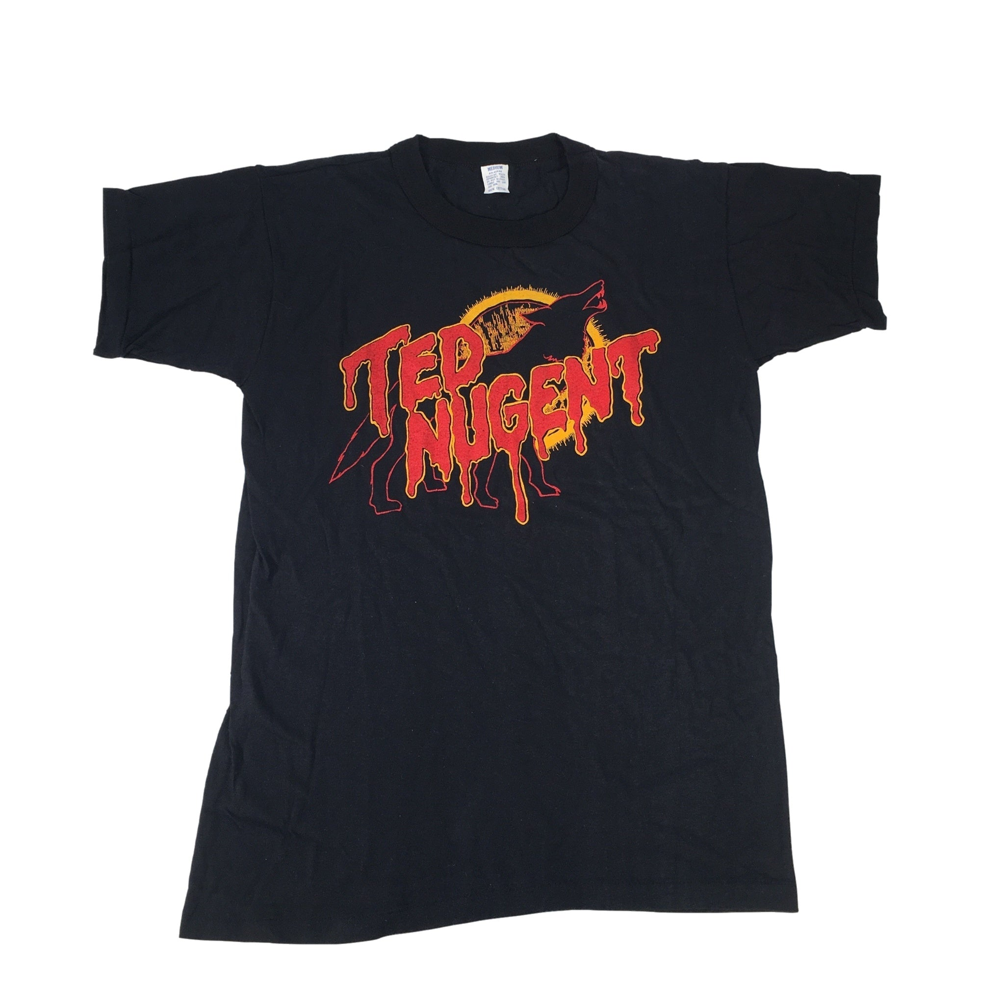 "Vintage Ted Nugent ""Wolf"" T-Shirt"