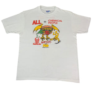 "Vintage ALL + Chemical People ""Monsters Of Food"" T-Shirt"