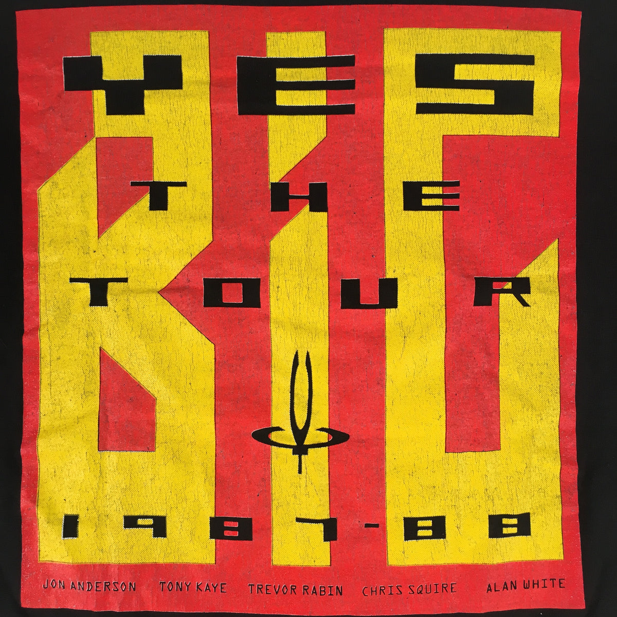"Vintage YES ""The Big Tour"" T-Shirt"
