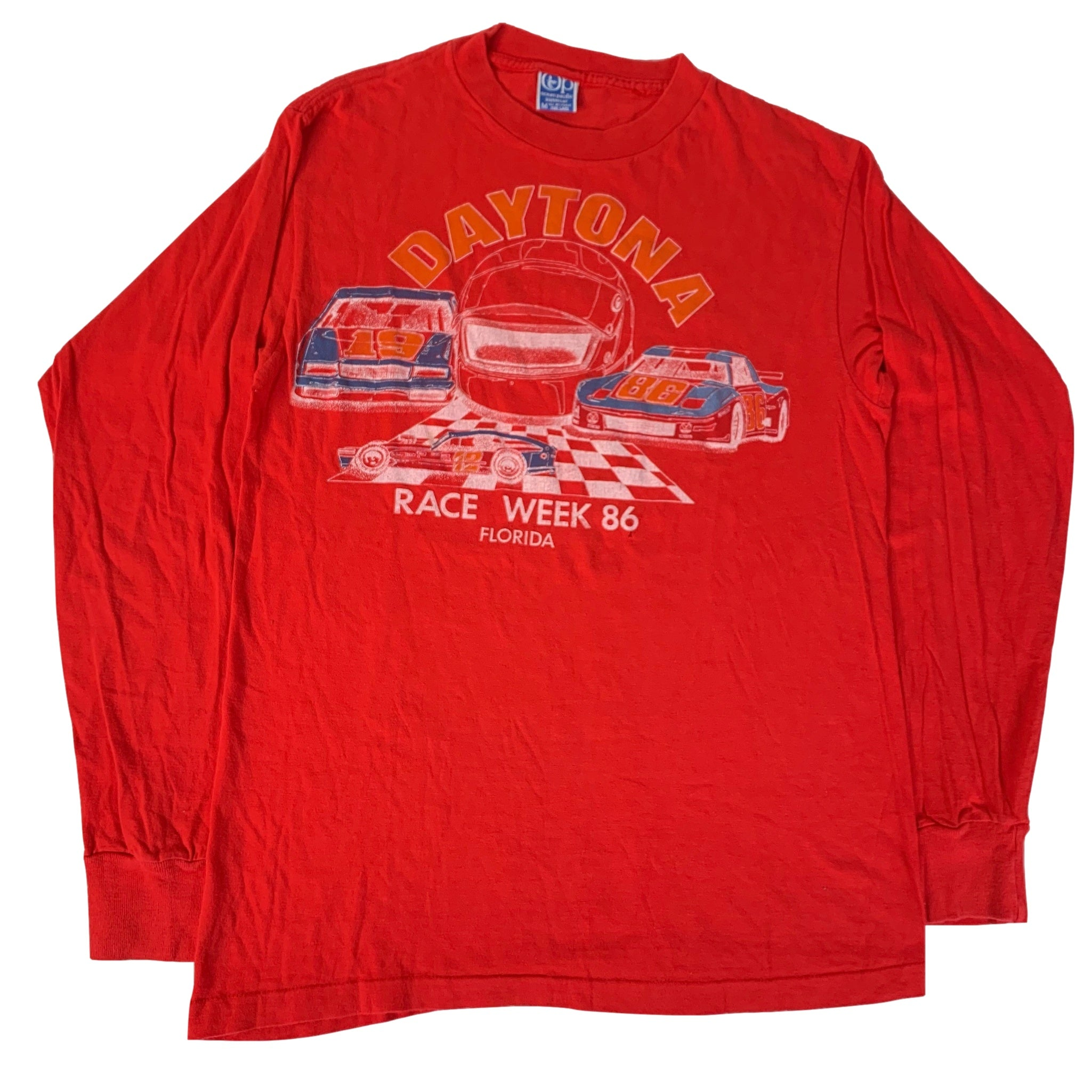 "Vintage Daytona ""Race Week"" Long Sleeve Shirt"