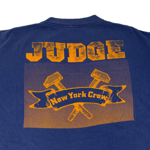 "Vintage Judge ""New York Crew"" Schism Records Long Sleeve T-Shirt"