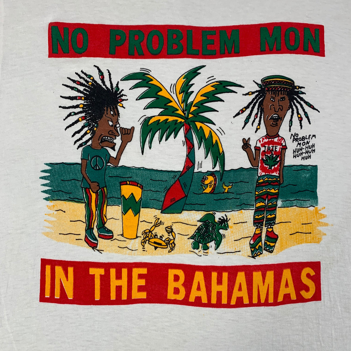 "Vintage Beavis And Butthead ""In The Bahamas"" T-Shirt"