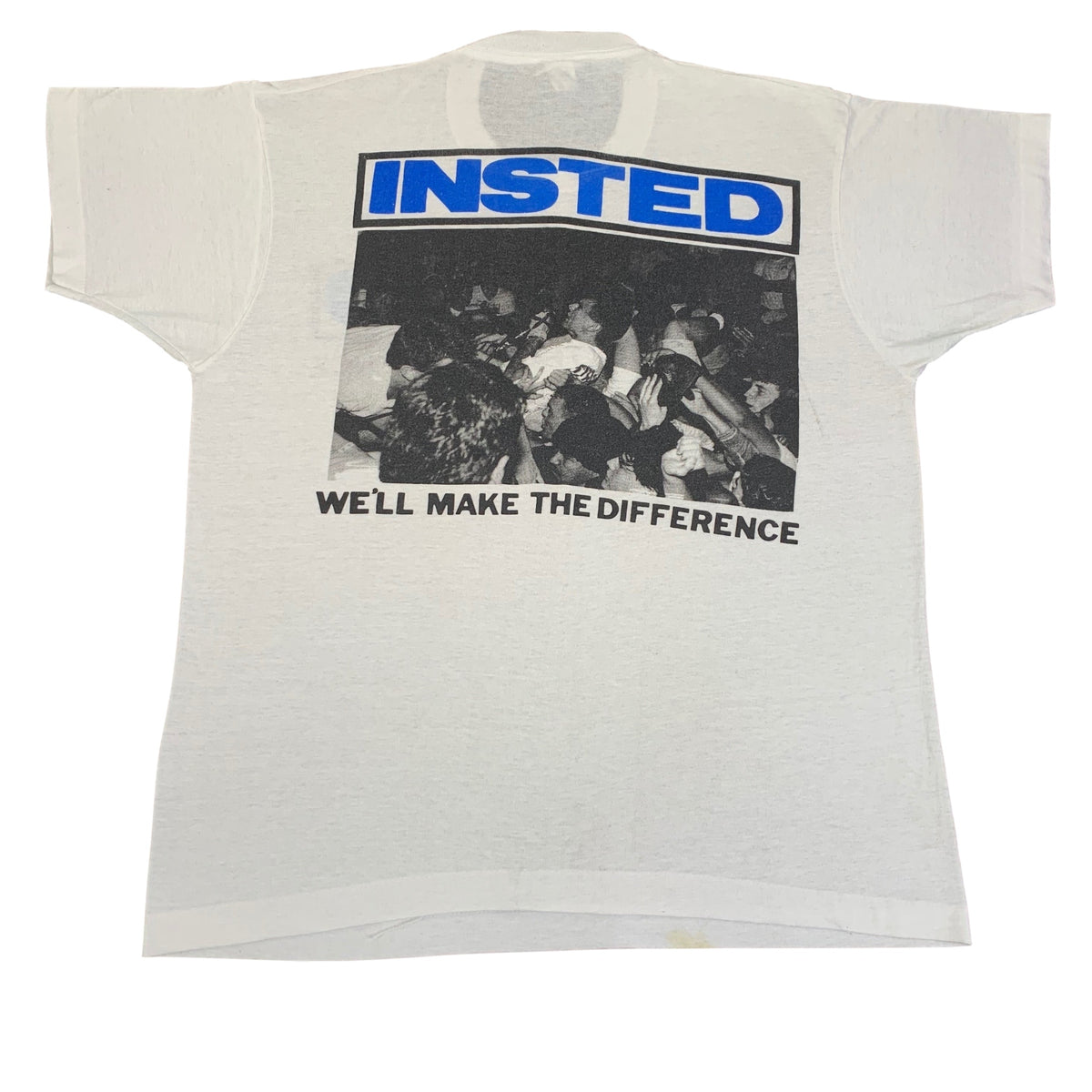 "Vintage Insted ""We'll Make The Difference"" T-Shirt"
