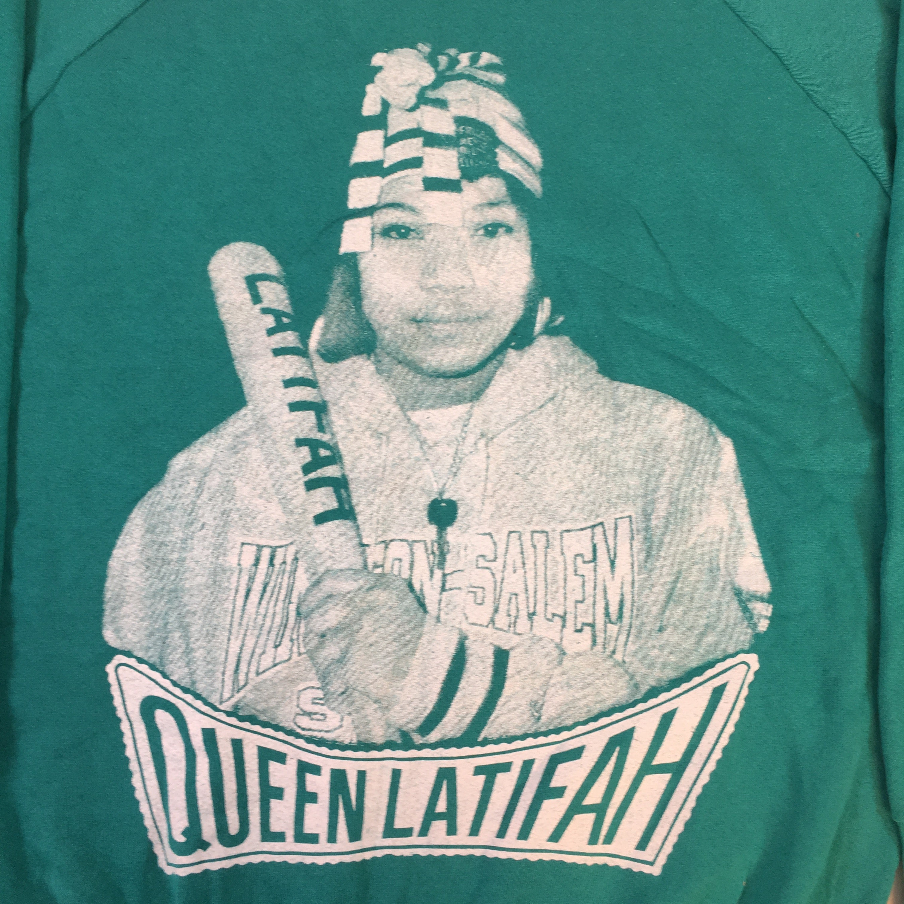 "Vintage Queen Latifah ""Queen"" Crewneck"