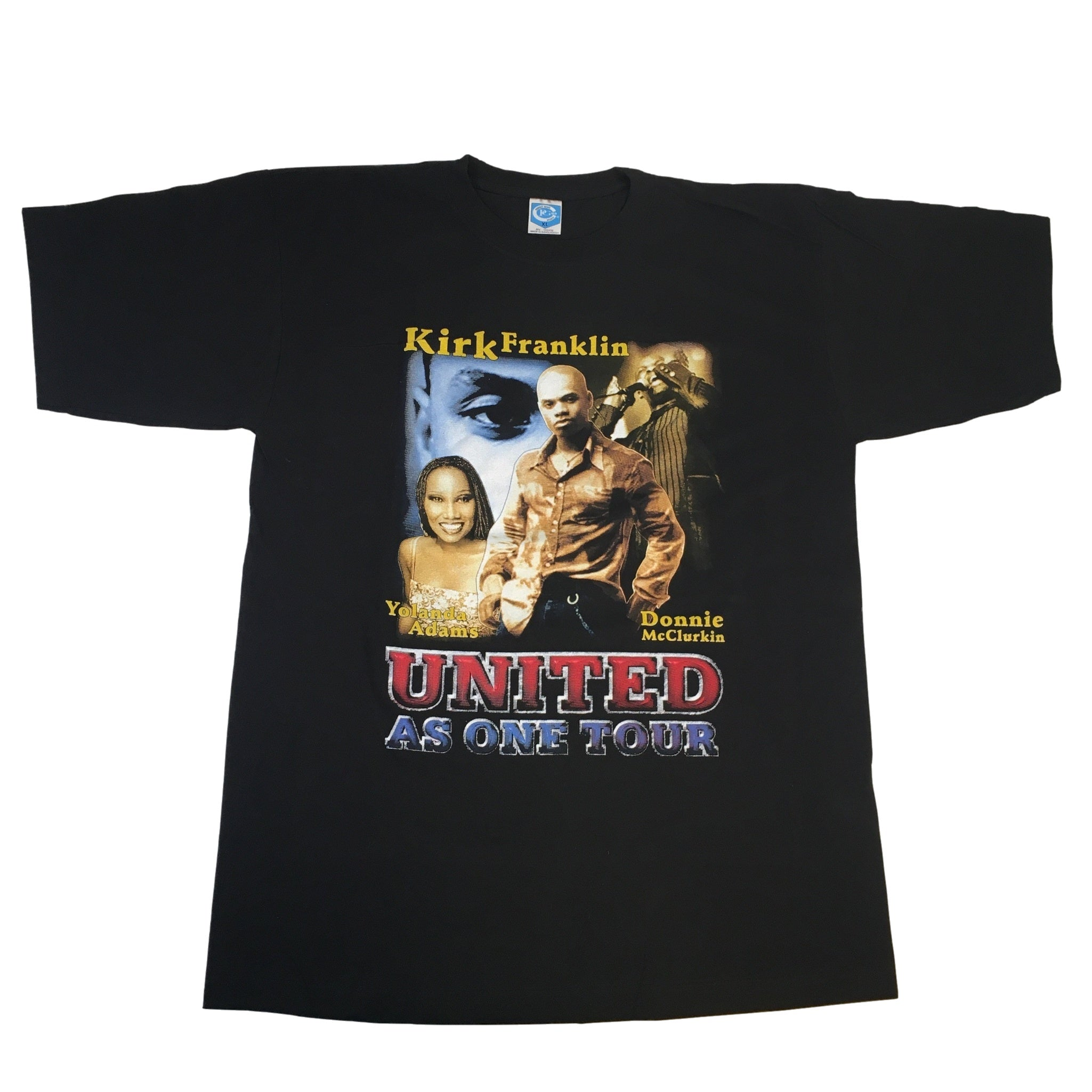 "Vintage Kirk Franklin ""United As One"" T-Shirt"