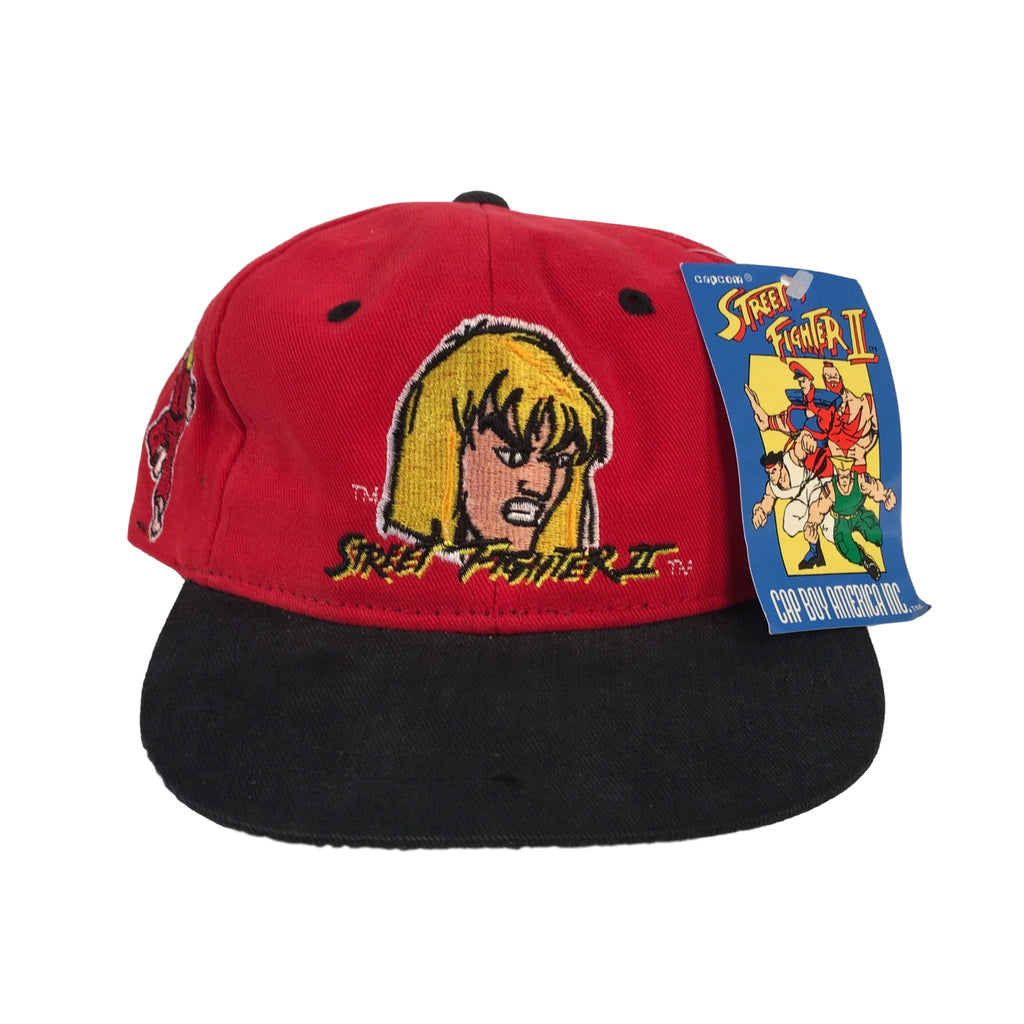 "Vintage Street Fighter II ""Ken"" Kids Snapback"