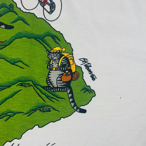 "Vintage B. Kliban ""Traveling Cats"" Crazy Shirts T-Shirt"