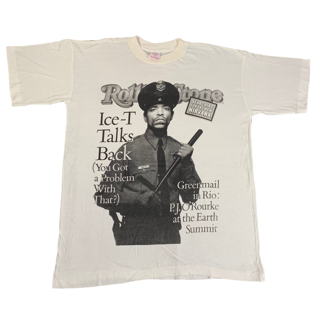 "Vintage Ice-T ""Rolling Stone Cover"" T-Shirt - jointcustodydc"
