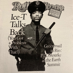 "Vintage Ice-T ""Rolling Stone Cover"" T-Shirt"