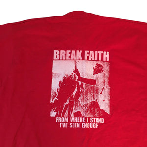 "Vintage Break Faith ""From Where I Stand"" T-Shirt"