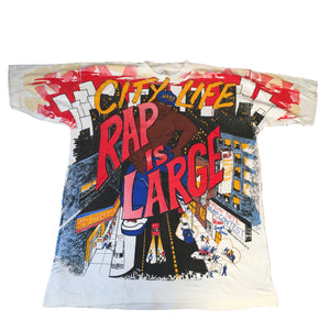 "Vintage City Life ""Rap Is Large"" T-Shirt"