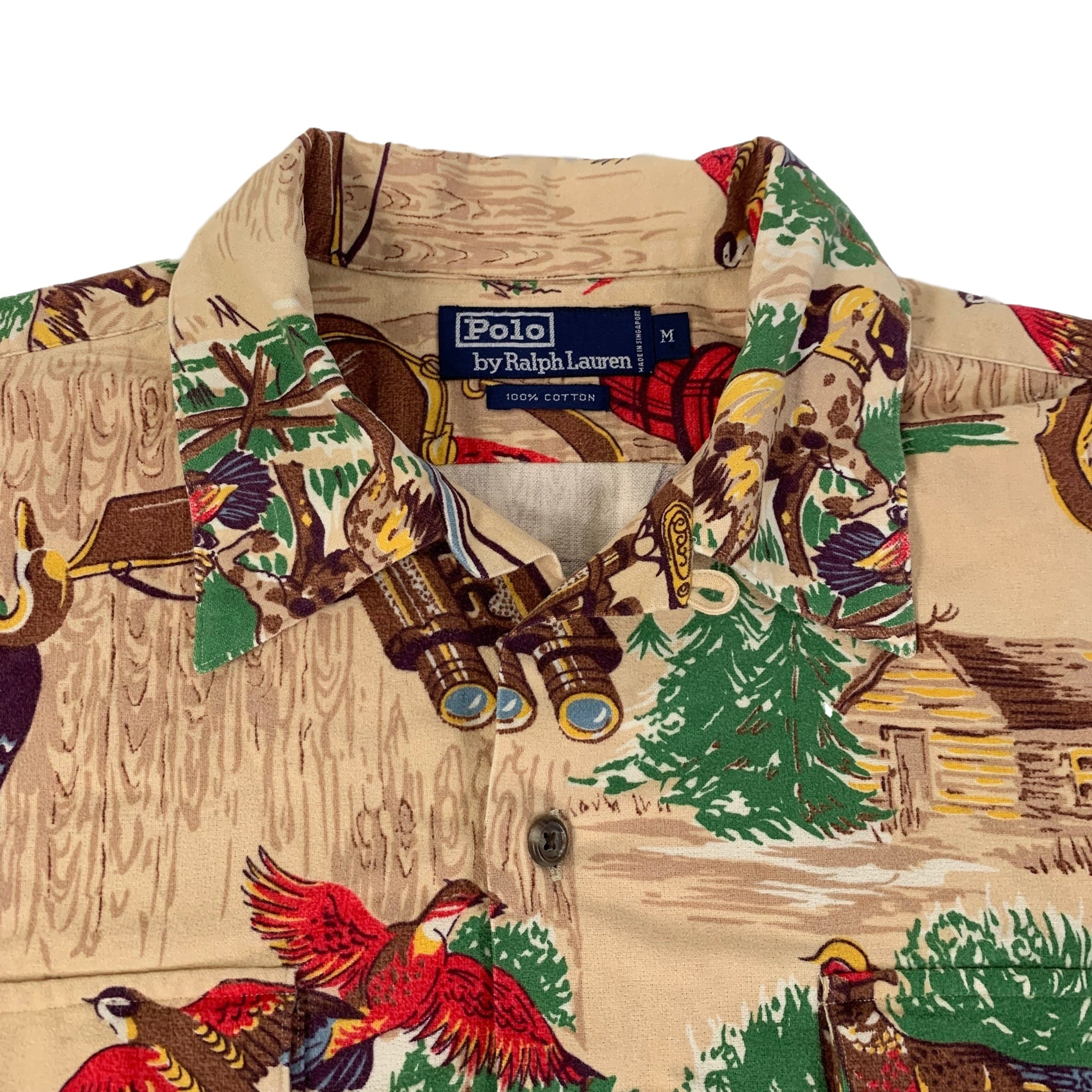 "Vintage Ralph Lauren Polo ""Quail Hunting"" Button Up Shirt"