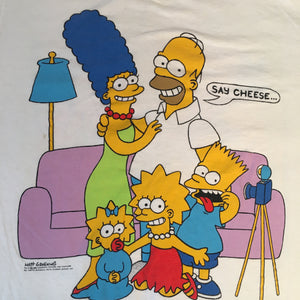 "Vintage The SImpsons ""Family Photo"" T-Shirt"