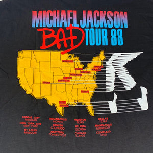 "Vintage Michael Jackson ""BAD"" T-Shirt"