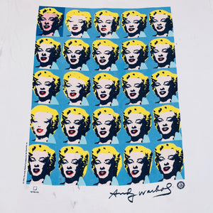 "Vintage Andy Warhol Marilyn Monroe ""Foundation For The Visual Arts"" T-Shirt"
