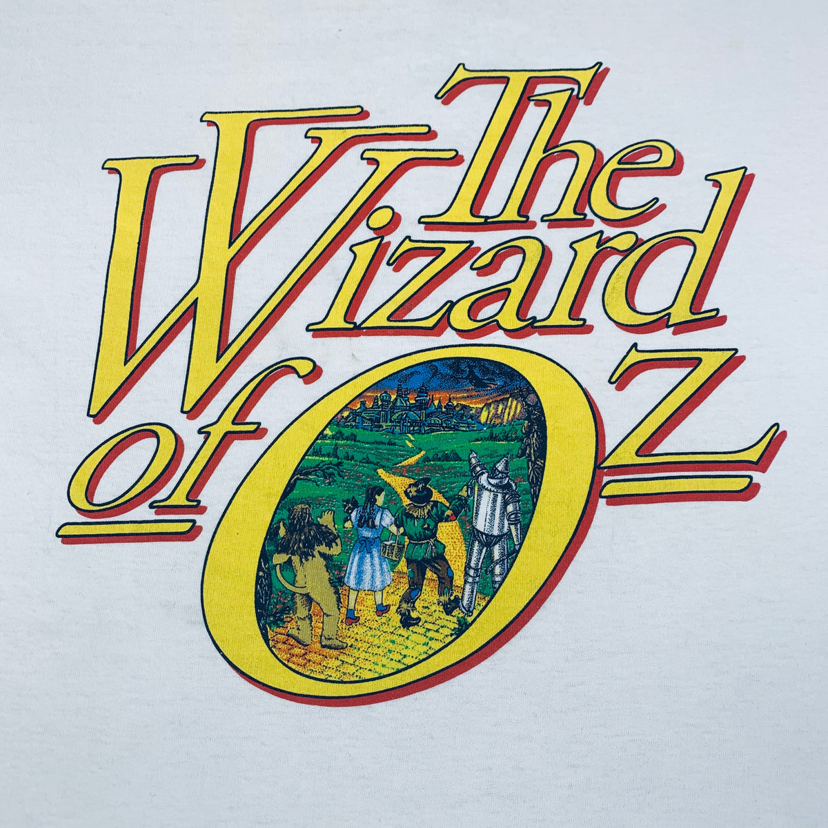 "Vintage The Wizard Of Oz ""Promo"" T-Shirt"