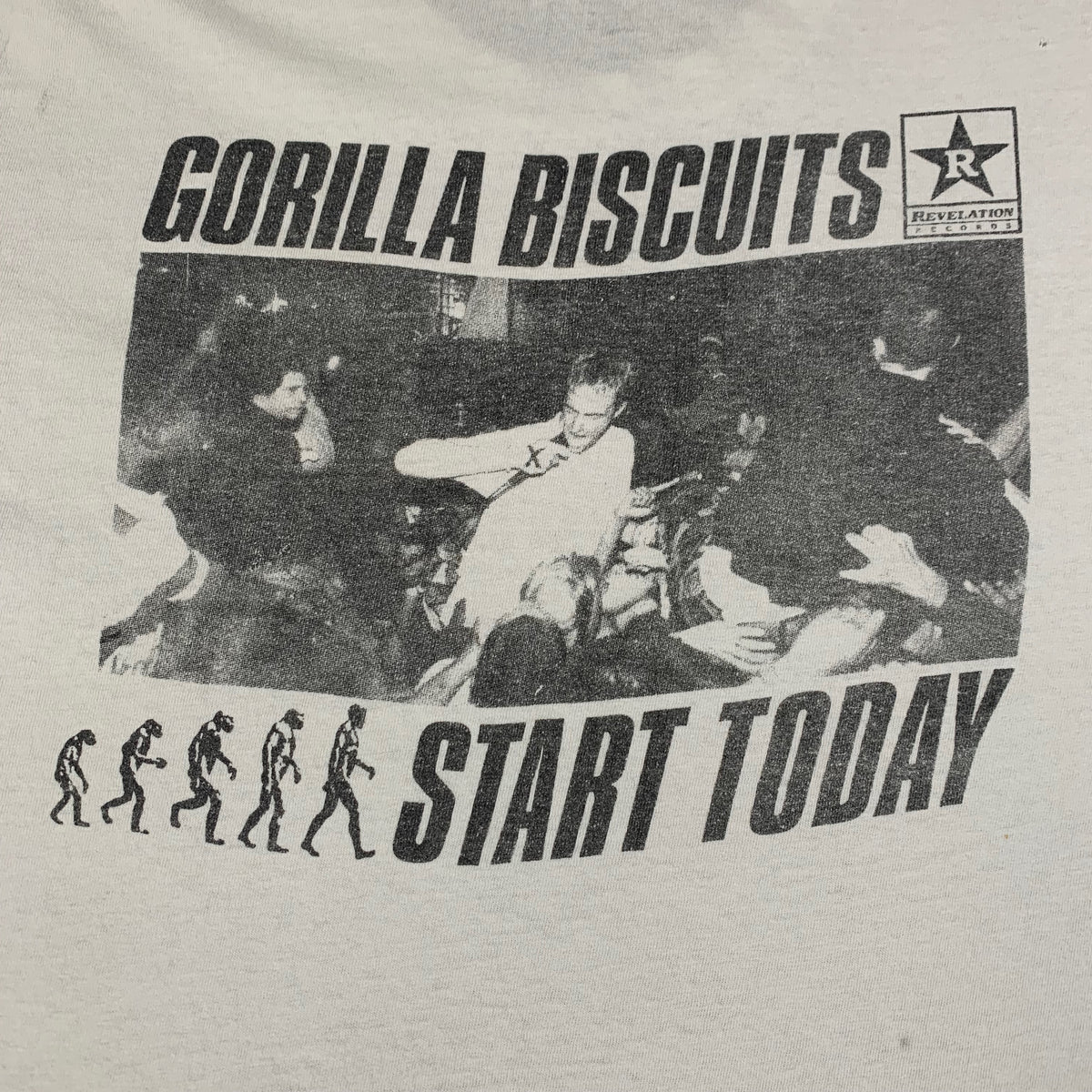 "Vintage Gorilla Biscuits ""Summer Tour 89"" T-Shirt"