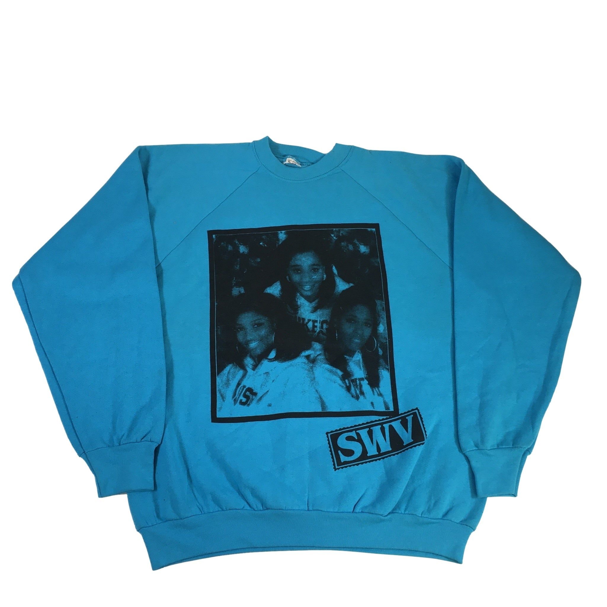 "Vintage SWV Nine Inch Nails ""Test Print"" Crewneck"