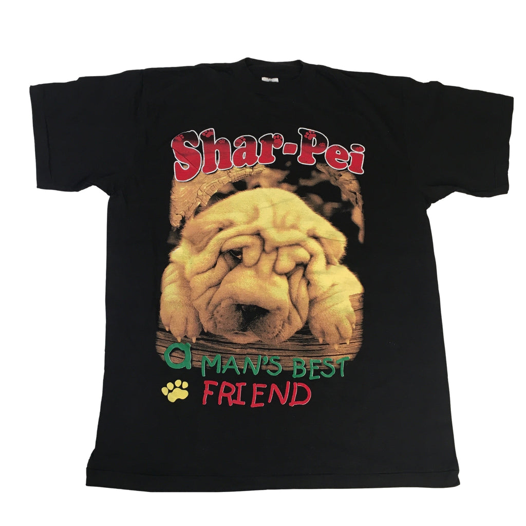 "Vintage Shar-Pei ""A Man's Best Friend"" T-Shirt"