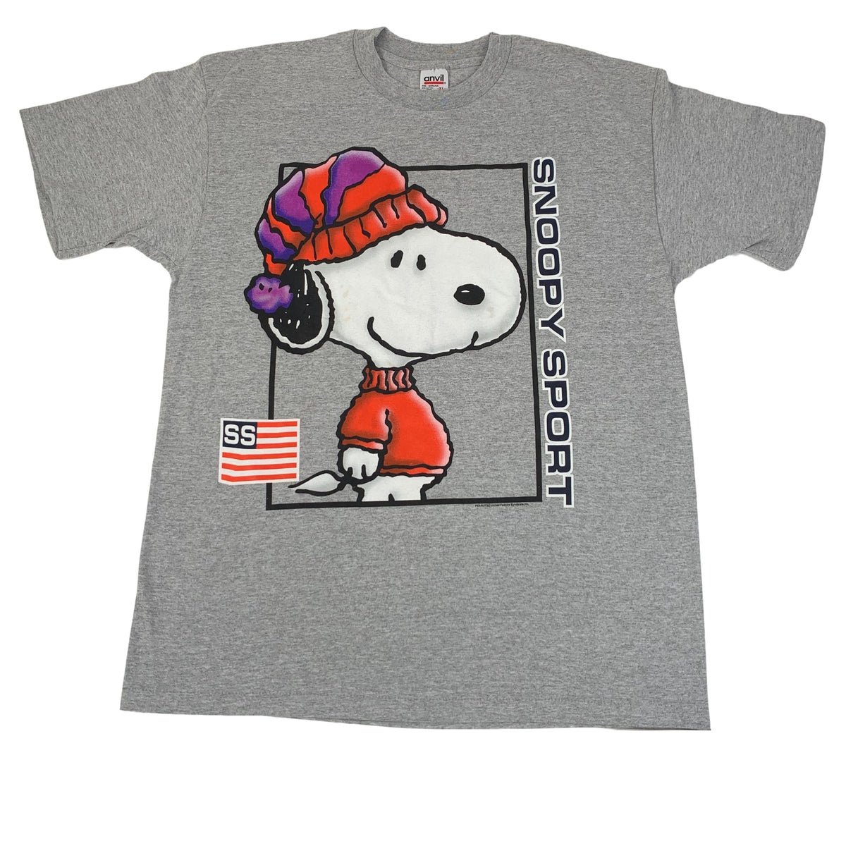 "Vintage Snoopy ""Snoopy Sport"" T-Shirt"