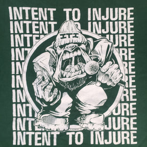 "Vintage Intent To Injure ""Habit Of Thought"" T-Shirt"