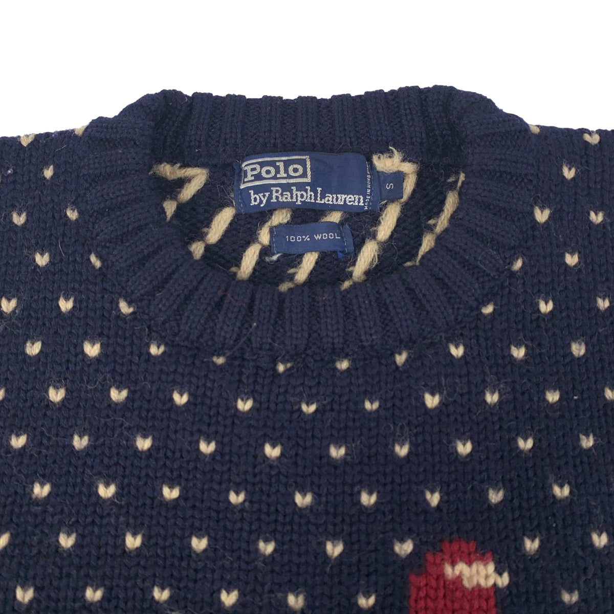 "Vintage Polo Ralph Lauren Wool ""Ski"" Sweater"