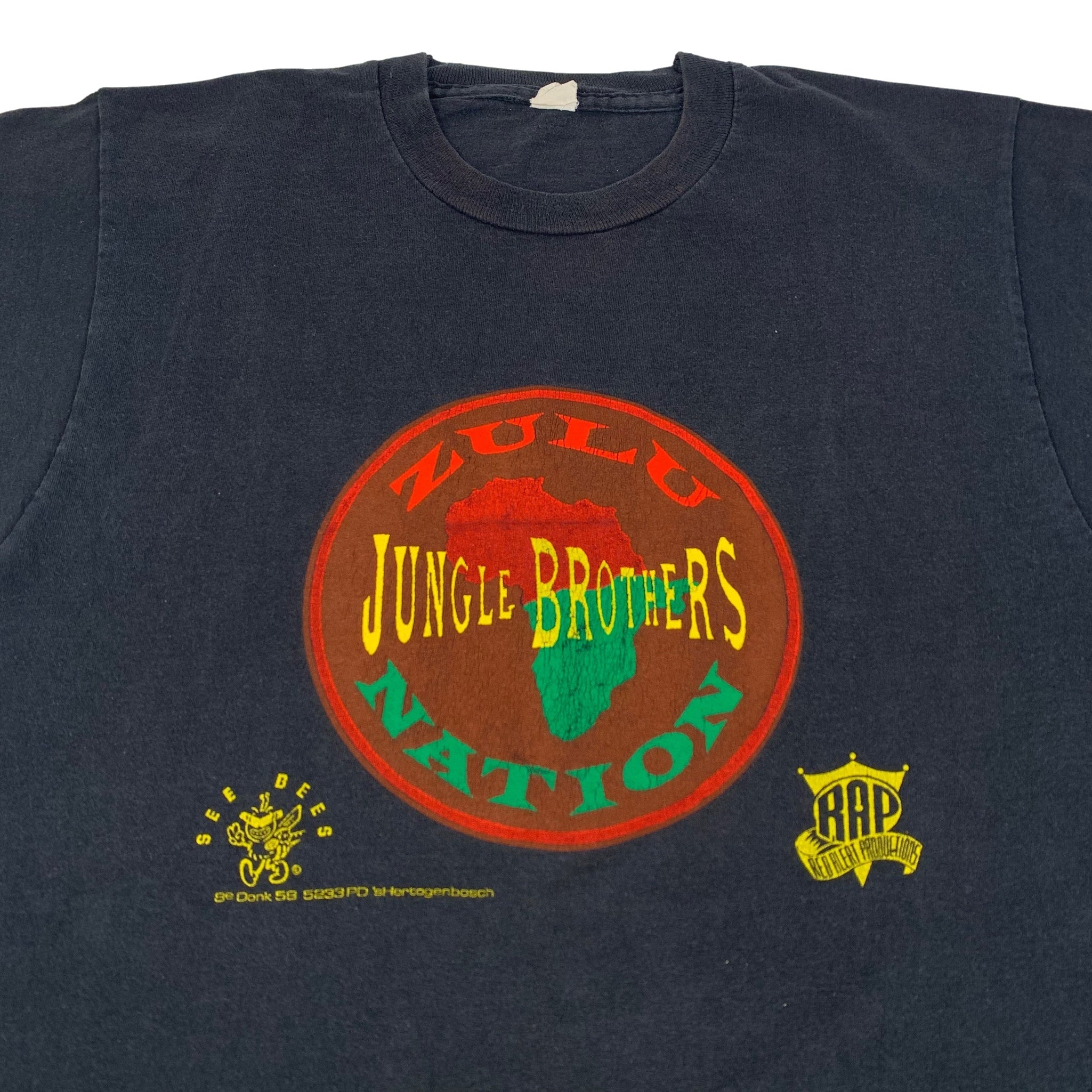 "Vintage Jungle Brothers ""Zulu Nation"" T-Shirt"