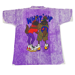"Vintage Looney Tunes ""What' Up"" All Over Print T-Shirt"