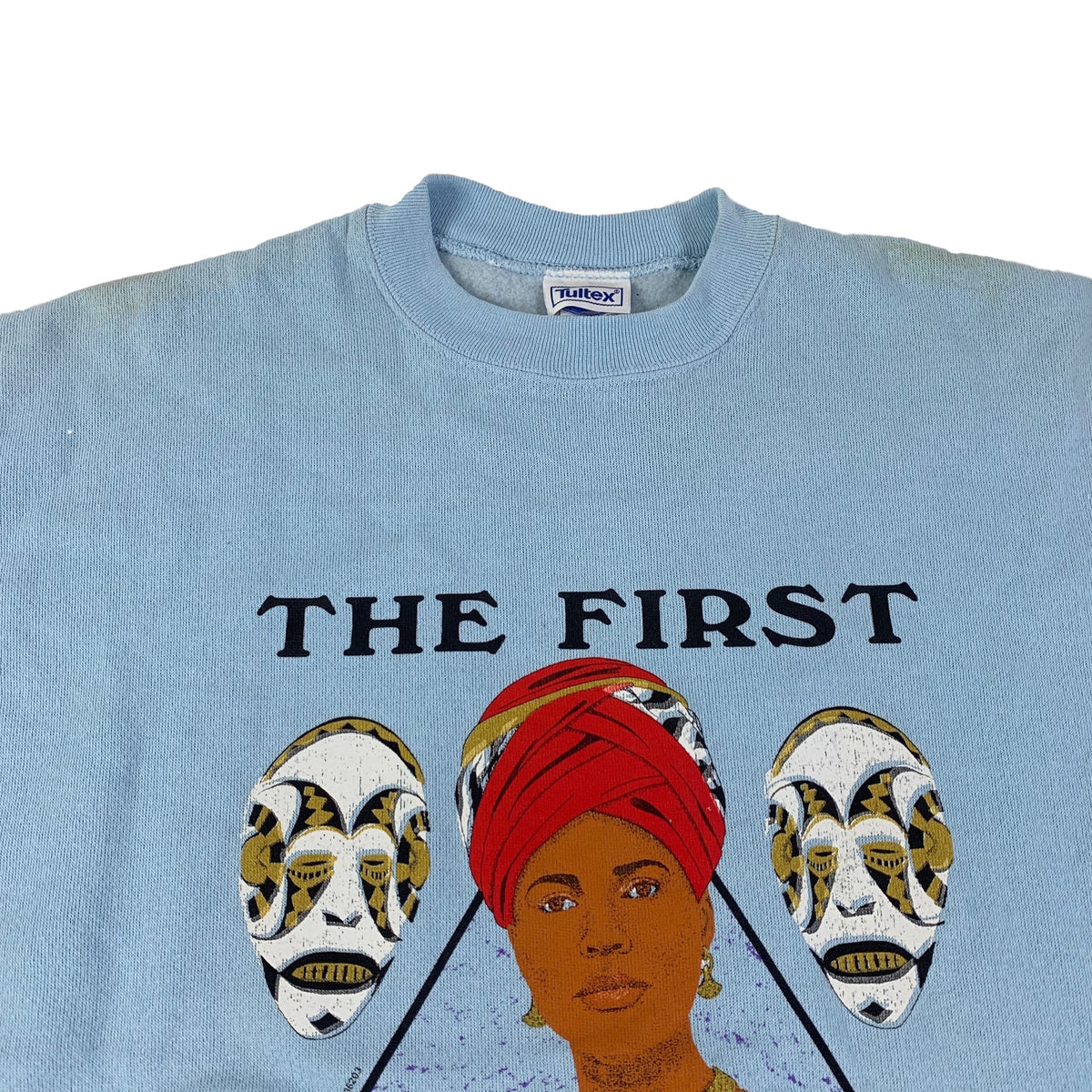 "Vintage The First Queen ""Afrocentric"" Crewneck Sweatshirt"