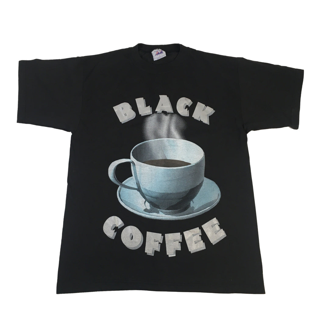 "Vintage Black Coffee ""No Sugar No Cream"" T-Shirt"