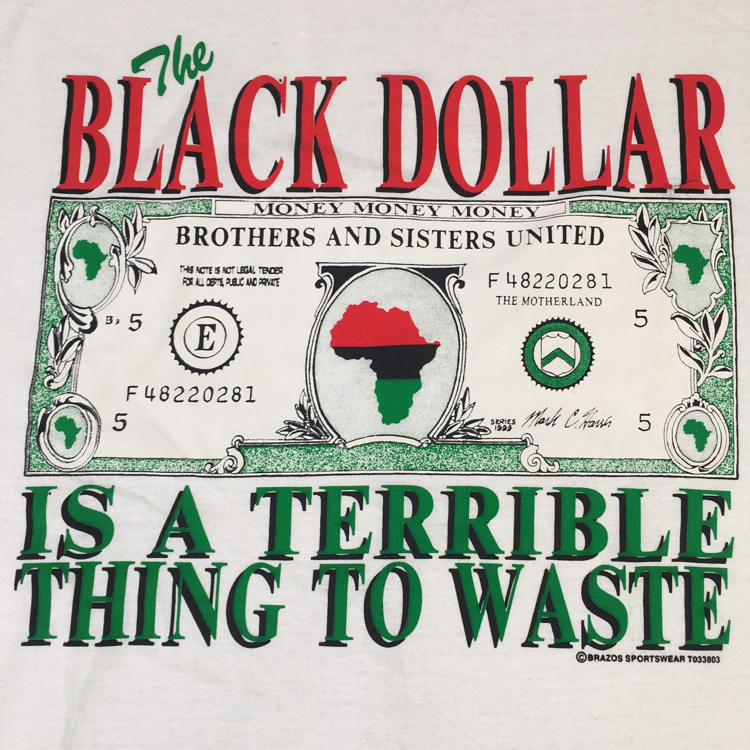 "Vintage Africa ""The Black Dollar"" T-Shirt"