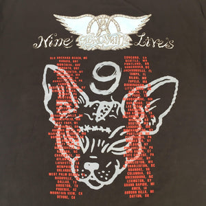 "Vintage Aerosmith ""Nine Lives"" T-Shirt"