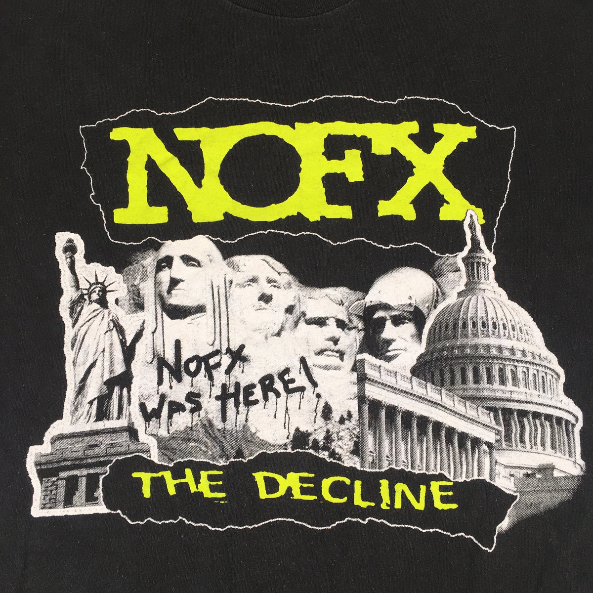 "Vintage NOFX ""The Decline"" T-Shirt"