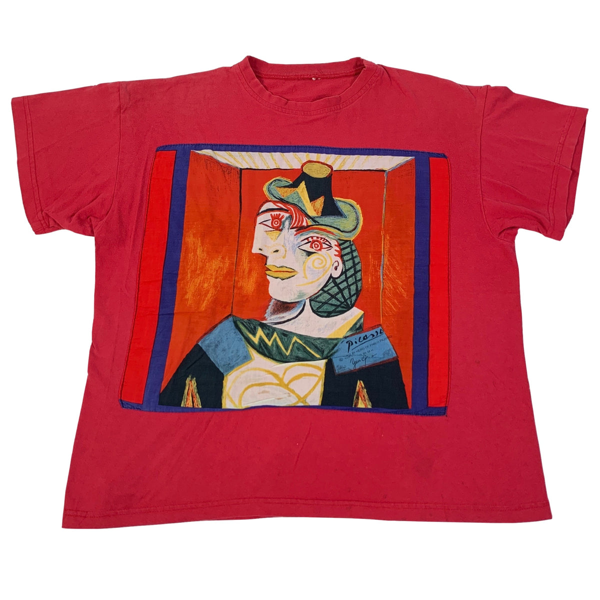 "Vintage Picasso ""Seated Woman"" T-Shirt"