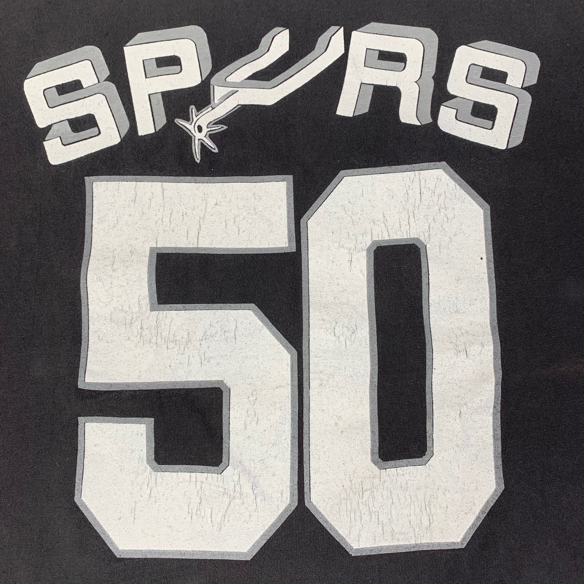 "Vintage San Antonio Spurs ""David Robinson #50"" T-Shirt"