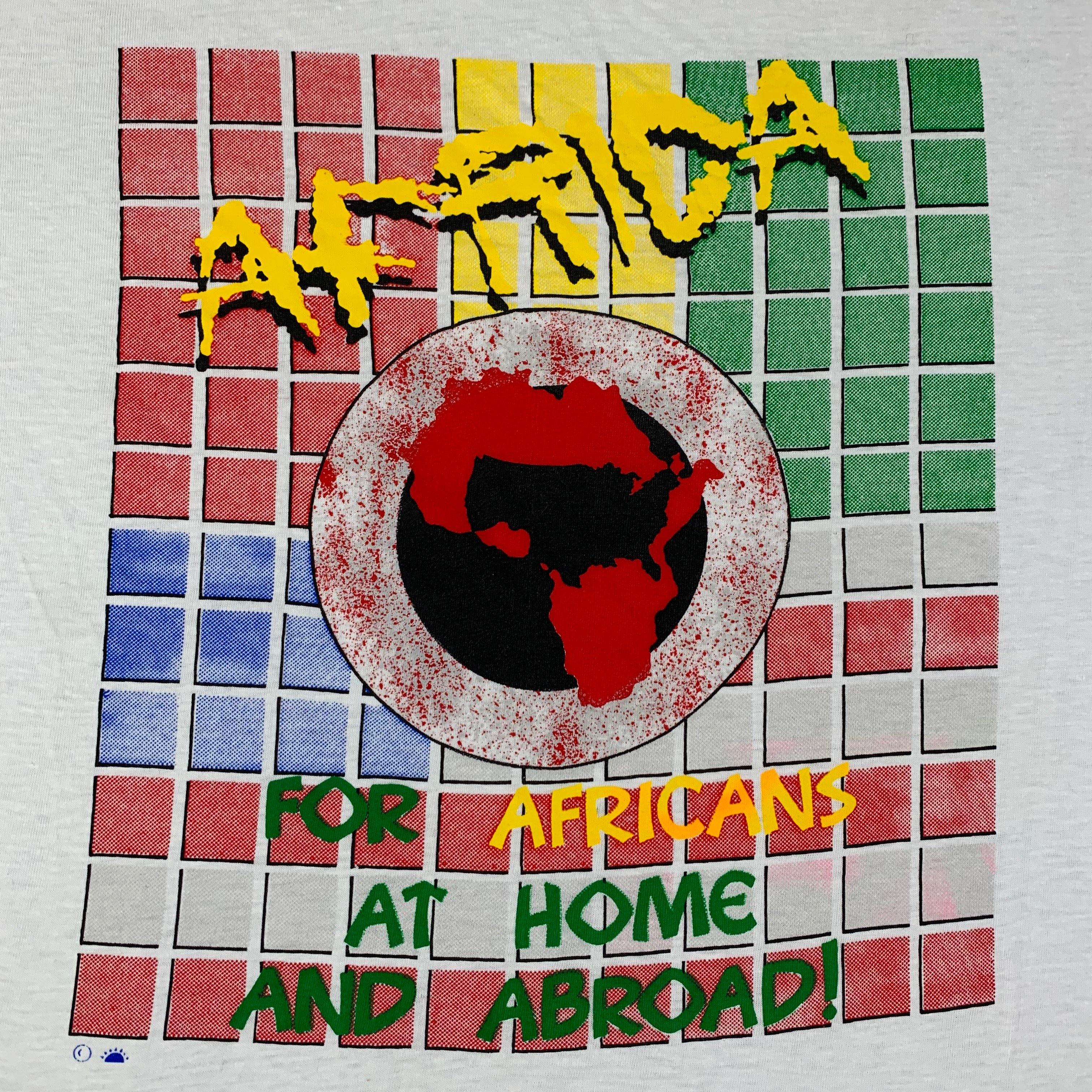 "Vintage Africa ""Home And Abroad"" T-Shirt"