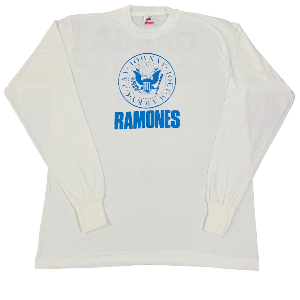 "Vintage Ramones ""Gabba Gabba Hey"" Long Sleeve Shirt"