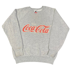 "Vintage Coca-Cola ""Enjoy"" Crewneck Sweatshirt"