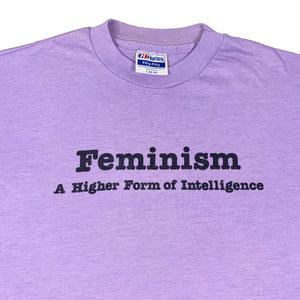 "Vintage Feminism ""Higher Form Of Intelligence"" T-Shirt"
