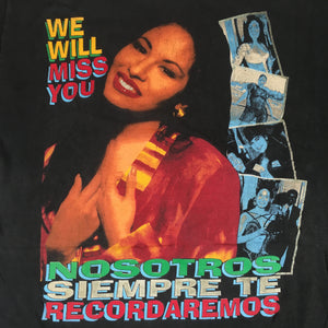 "Vintage Selena ""We Will Miss You"" T-Shirt"